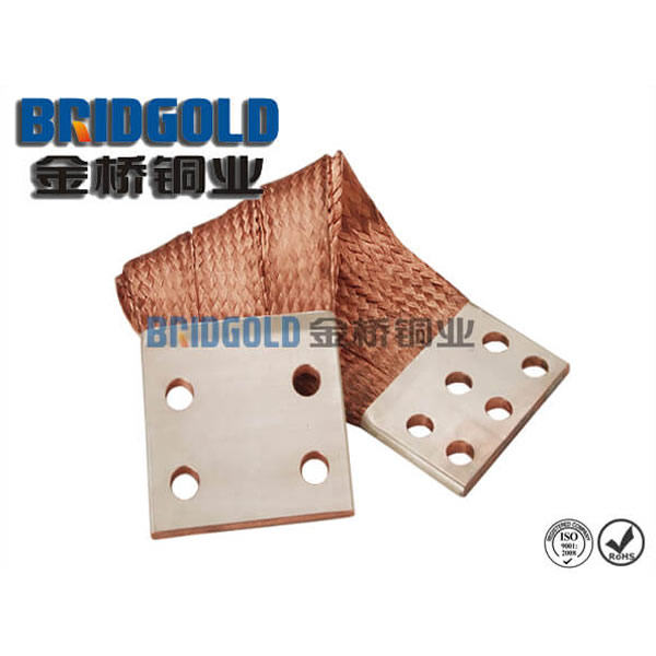 flexible copper bonding strap